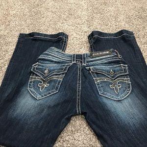 Like New Rock Revival Scarlet Jeans